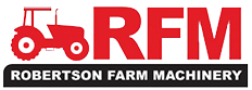 Robertson Farm Machinery logo